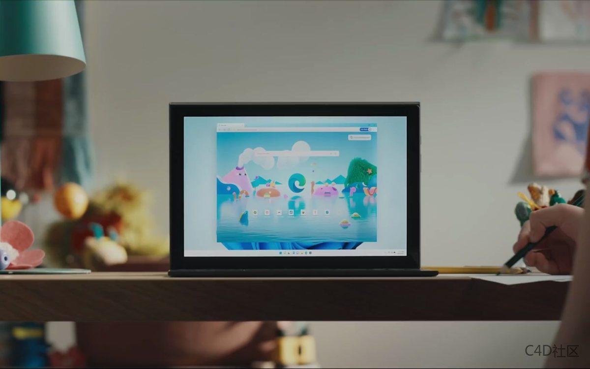 全新的Windows 11 宣传视频