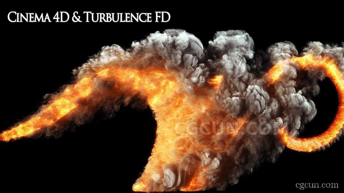 TurbulenceFD v1.0 Rev 1465 TFD烟雾模拟插件-中英双语汉化版