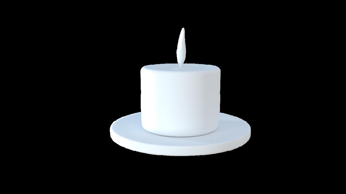 蜡烛模型-烛台