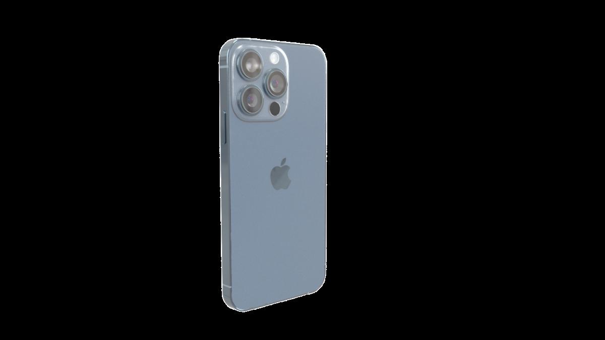 iPhone 13 Pro 高精度4边面模型