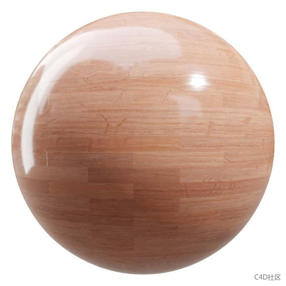 家庭木地板纹理材质含有一些自然的痕迹
