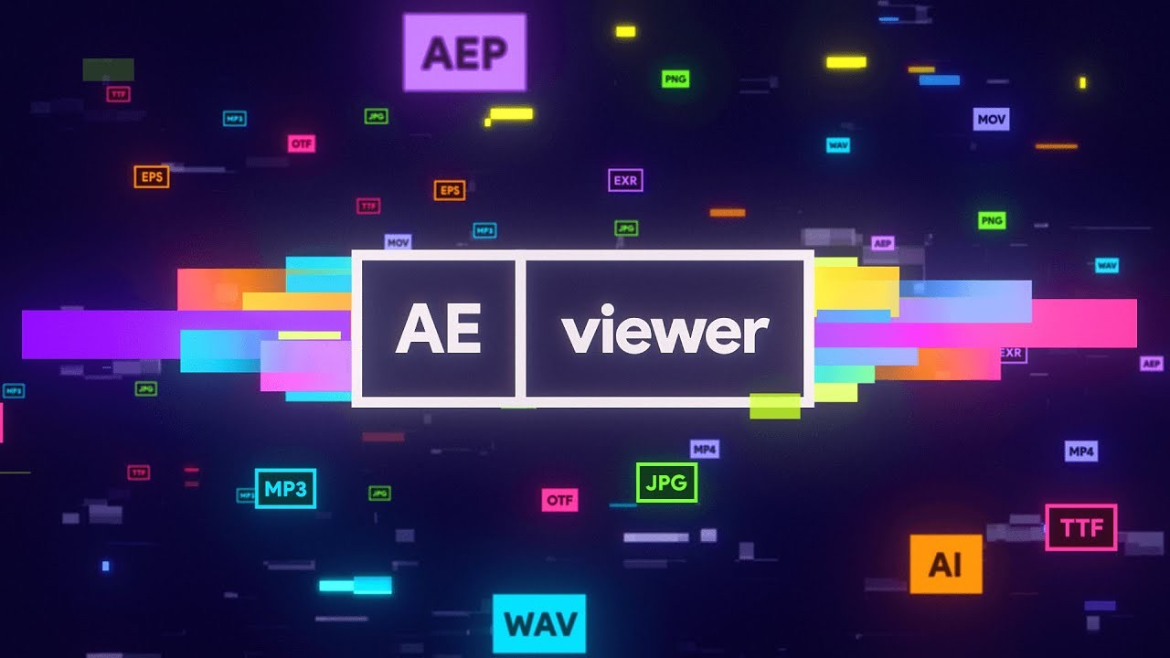 AEscripts AEViewer v1.7.1 fro After Effects- 多格式媒体管理预览脚本